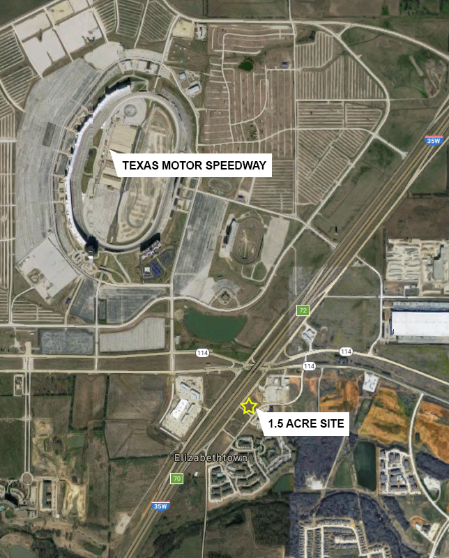 Myers commercial texas commercial property sale lease for Holiday inn near texas motor speedway